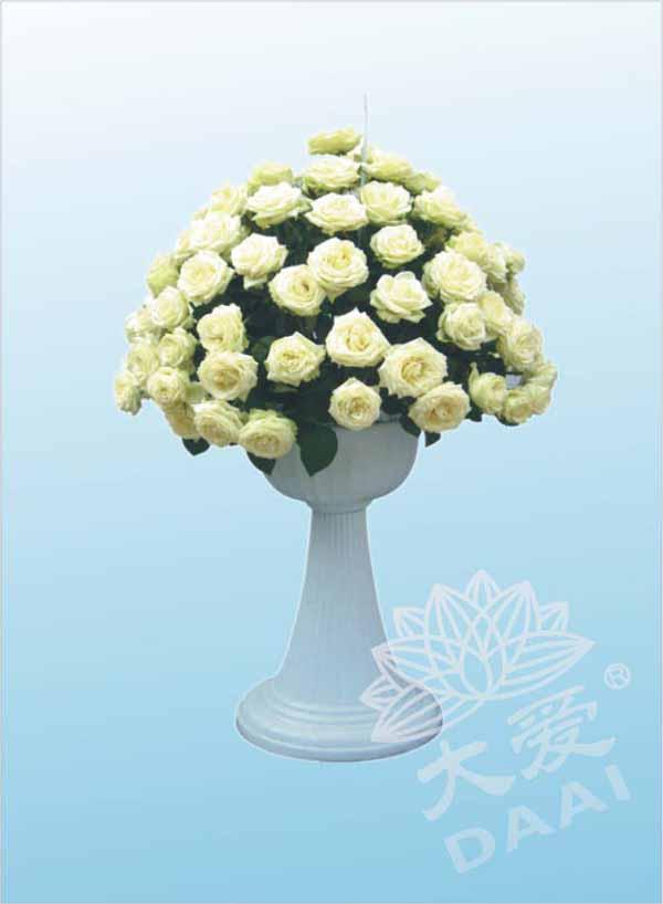 玫瑰大白杯座